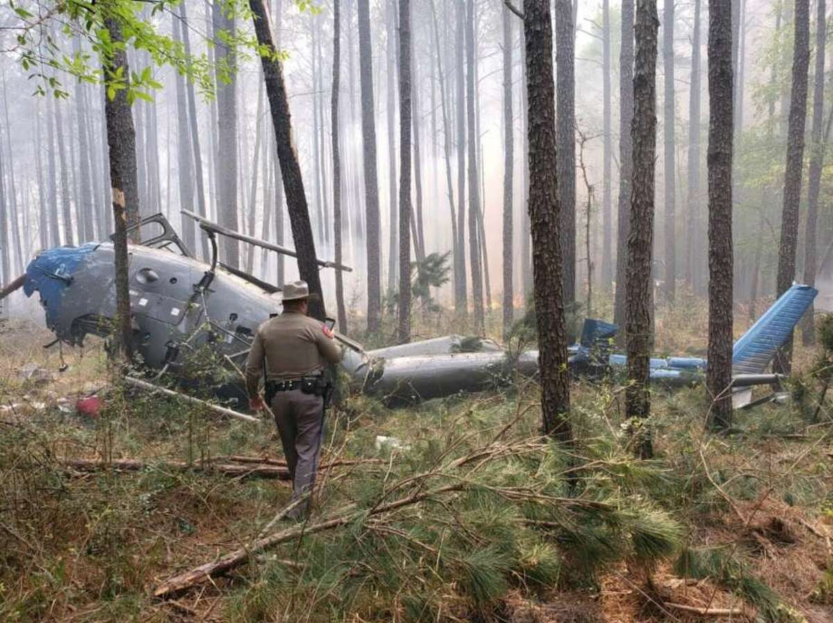 March 27, 2019 A man who died in a helicopter crash in Sam Houston National Forest was identified as a two-decade veteran of the U.S. Forest Service, according to federal officials. Daniel Laird, a helitack captain from the Tahoe National Forest in California, was identified Thursday as the lone fatality from an aircraft that crashed Wednesday afternoon in Montgomery County. He was visiting Texas to help with a controlled burn in the forest, according to a Department of Agriculture news release.