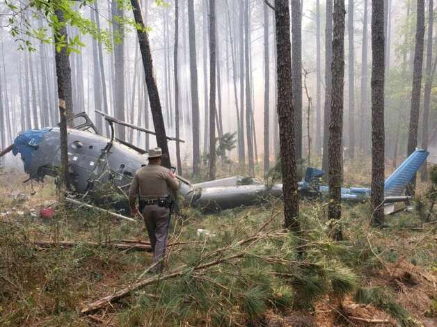 March 27, 2019 A man who died in a helicopter crash in Sam Houston National Forest was identified as a two-decade veteran of the U.S. Forest Service, according to federal officials.  Daniel Laird, a helitack captain from the Tahoe National Forest in California, was identified Thursday as the lone fatality from an aircraft that crashed Wednesday afternoon in Montgomery County. He was visiting Texas to help with a controlled burn in the forest, according to a Department of Agriculture news release. Photo: Texas Department Of Public Safety