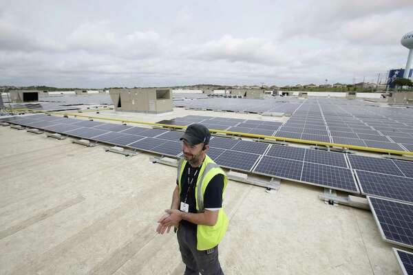 San Antonio-area IKEA turns on a massive solar array