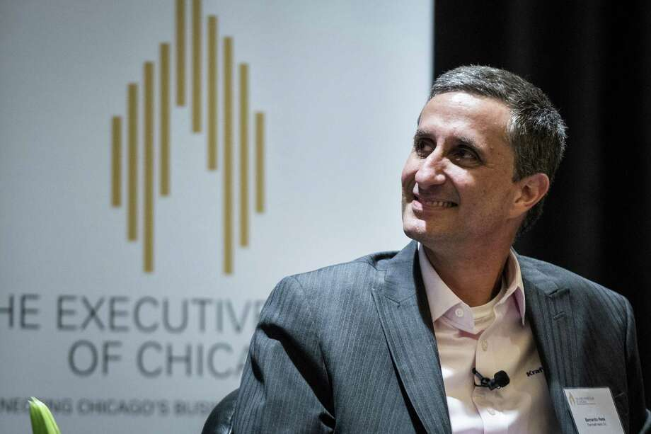 Bernardo Hees, chief executive officer of the Kraft Heinz Co., at an Executives' Club of Chicago event in Chicago on Sept. 11, 2017. Photo: Bloomberg Photo By Christopher Dilts / Bloomberg