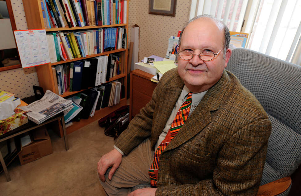 Dr. Richard Propp speaks to the Times Union at his home in Albany, New York February 25, 2008, regarding health care.