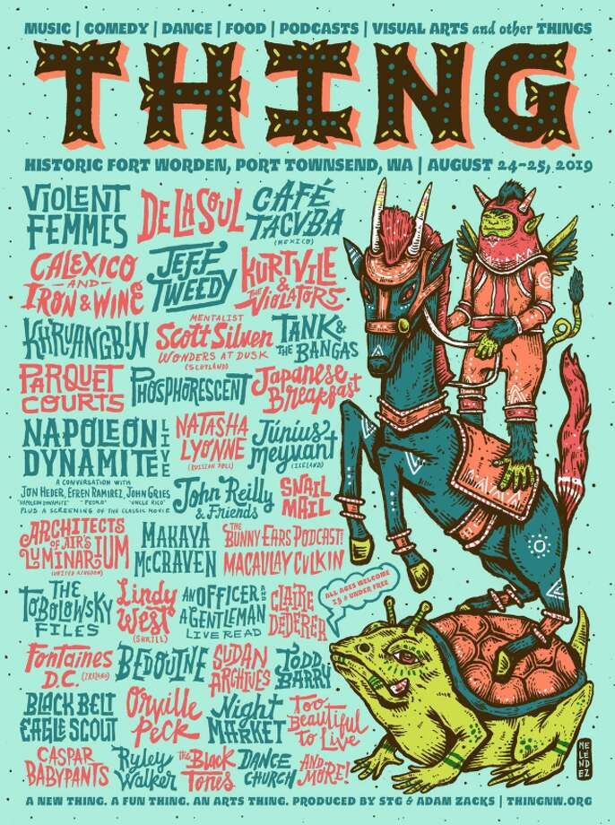 Thing debuted their line-up on April 22, with plenty of acts coming to the inaugural festival at Fort Worden in August 2019. Photo: Thing