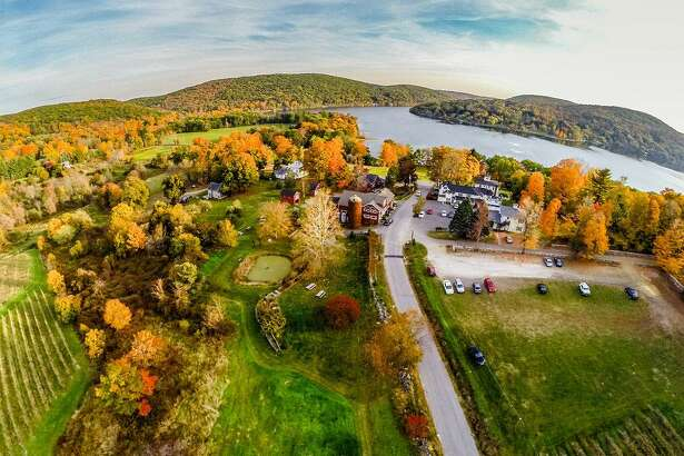 Hopkins Vineyard in Warren is celebrating its 40th anniversary this year. The winery, which was founded by William and Judith Hopkins, sits on land that has been in the Hopkins family for more than 200 years. The property overlooks Lake Waramaug.