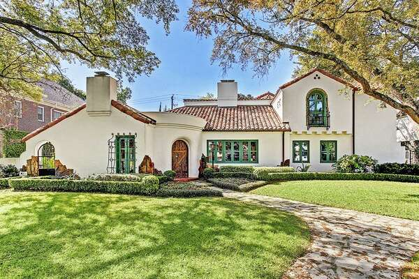 This $4.8 million mansion located at 2203 Brentwood Drive in River Oaks was one of the handful of homes featured in the neighborhood's original marketing materials from the 1900's. At 5,891 square feet, the home boasts four bedrooms, six full and two half bathrooms, wine room, media room and an outdoor kitchen with a fire pit and heated pool.