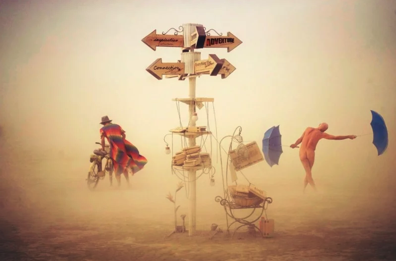 His stunning Burning Man images rocketed him to fame and fortune. Now he's giving up photography