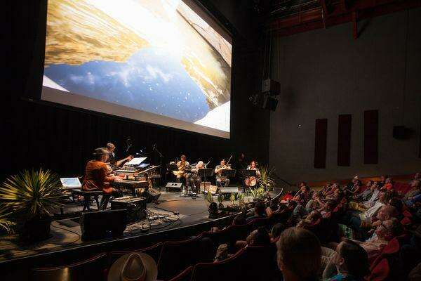 """The Austin-based classical/country hybrid group Montopolis performs music composed by Justin Sherburn, who also plays piano. The group just released """"The Legend of Big Bend"""" which was inspired by the beloved Texas park."""