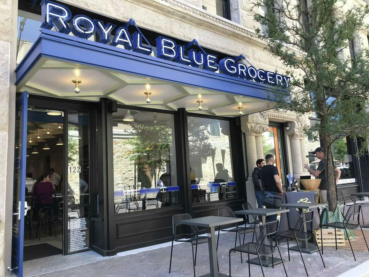 Royal Blue Grocery is located at 122 E. Houston St.