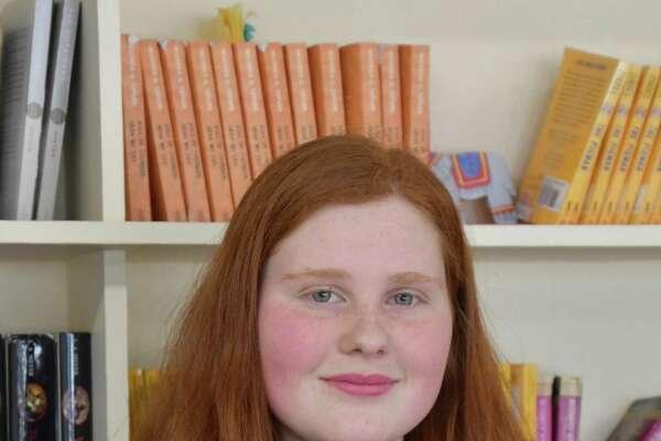 Country School eighth-grader Elke Zigmont.