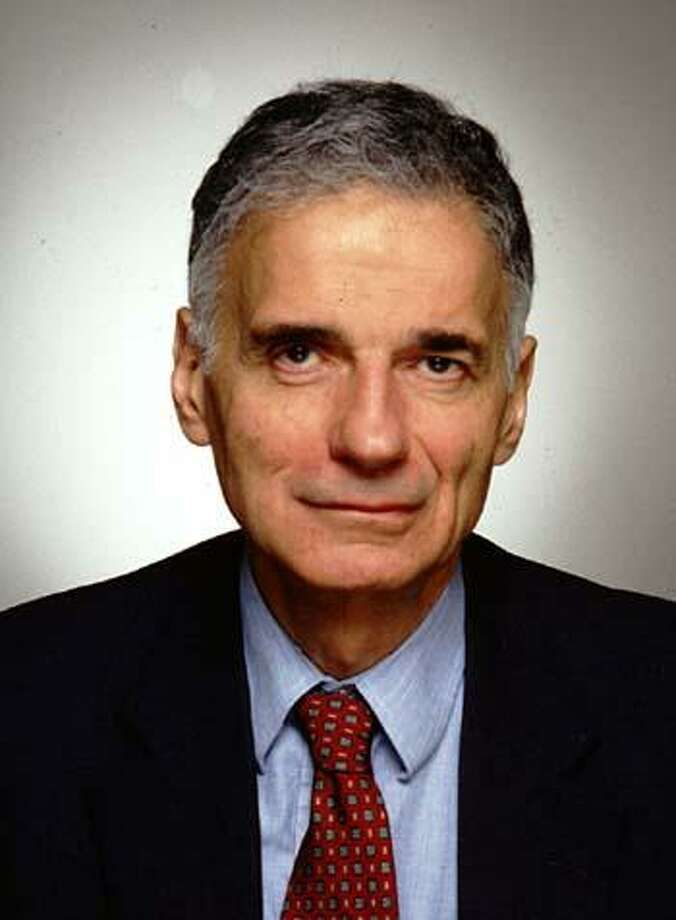 Ralph Nader Photo: CONTRIBUTED PHOTO /