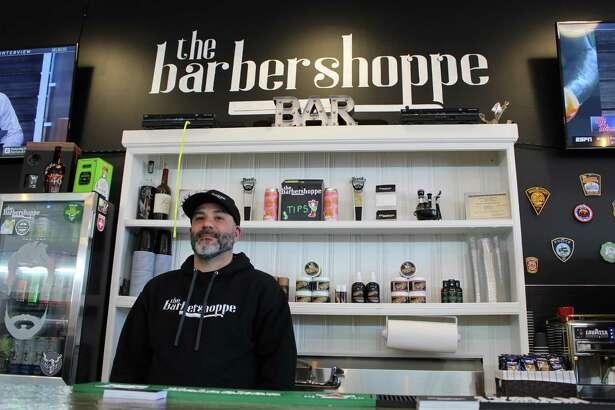 Ralph Bonadio, owner of the Barbershoppe in Trumbull.