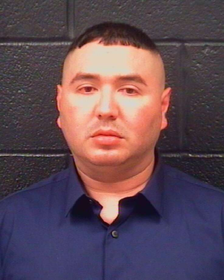 Rudy Mora, 32, was arrested by Laredo police Sunday, April 21, 2019, on two counts of intoxication assault and one count of accident involving damage to a vehicle. Photo: Laredo Police Department/Courtesy Photo