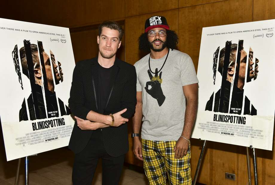 """FILE - Rafael Casal (L) and Daveed Diggs pose for portrait at the screening of Summit Entertainment's """"Blindspotting"""" Q&A at Bing Theatre At LACMA on July 9, 2018 in Los Angeles. The actors are teaming up to save Oakland's Fairyland at """"Celebrity Storytime,"""" a charity event for the historic park. Photo: Rodin Eckenroth/Getty Images"""