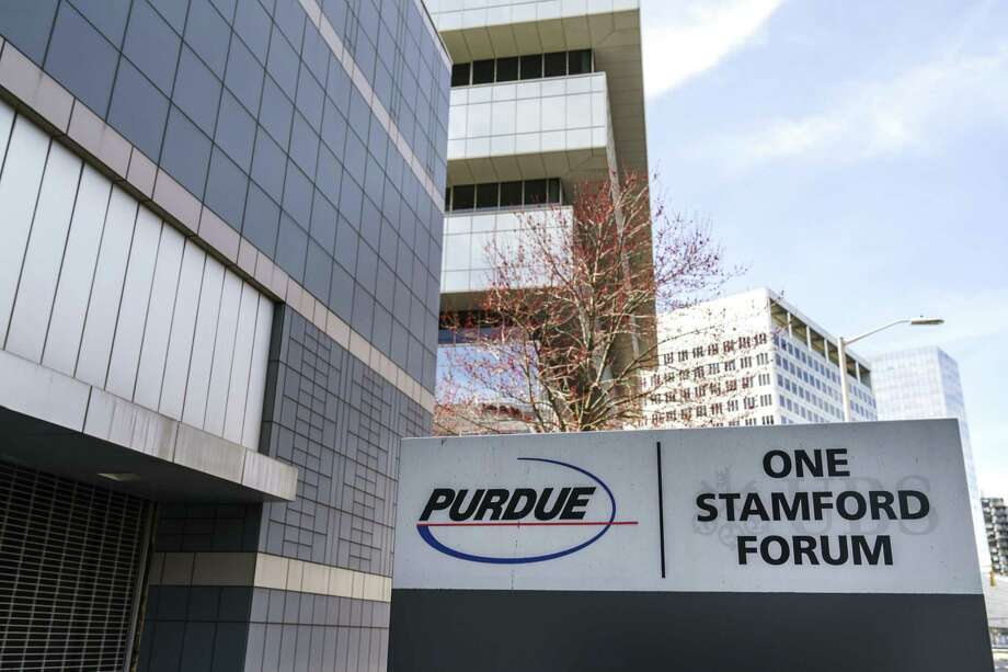 STAMFORD, CT - APRIL 2: Purdue Pharma headquarters stands in downtown Stamford, April 2, 2019 in Stamford, Connecticut. Purdue Pharma, the maker of OxyContin, and its owners, the Sackler family, are facing hundreds of lawsuits across the country for the company's alleged role in the opioid epidemic that has killed more than 200,000 Americans over the past 20 years. (Photo by Drew Angerer/Getty Images) Photo: Drew Angerer / Getty Images / 2019 Getty Images