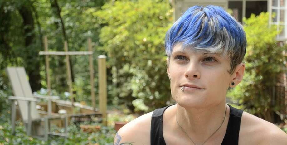 """Mallory Wood appears in """"TransGeek: Transgender In Tech,"""" one of two films to be screened at Bethel Cinema on May 8. Wood is also a co-producer of """"TransGeek."""" Photo: Contributed Photo"""