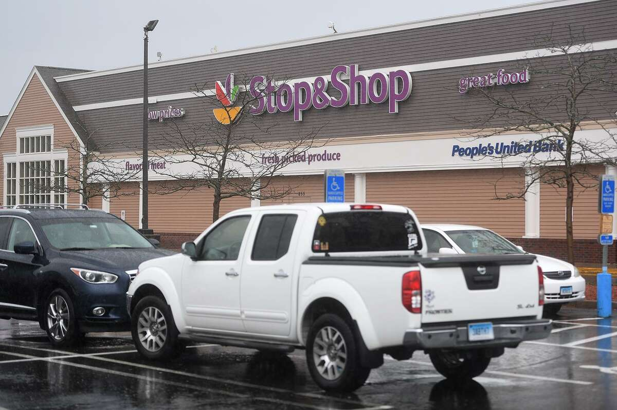The Stop & Shop at 855 Bridgeport Avenue in Milford, Conn. on Monday, April 22, 2019. An 11 day strike by employees ended at the grocery store chain after a tentative agreement was reached on Sunday.