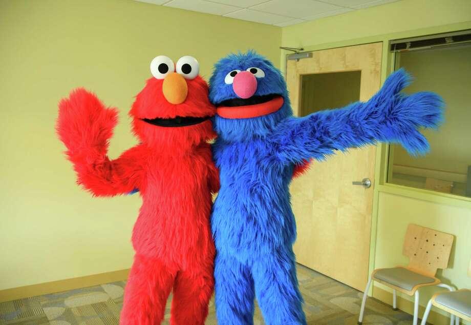 HACKENSACK, NJ - FEBRUARY 22:  Elmo And Grover From Sesame Street Live Visit The Children Of Joseph M. Sanzari Children's Hospitall on February 22, 2017 in Hackensack, New Jersey  (Photo by Dave Kotinsky/Getty Images) Photo: Dave Kotinsky / 2017 Dave Kotinsky