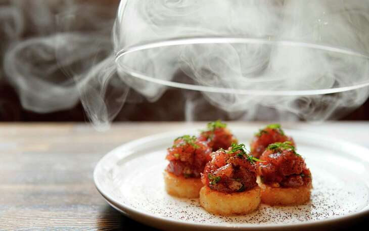 Tuna Sushi Poppers at International Smoke