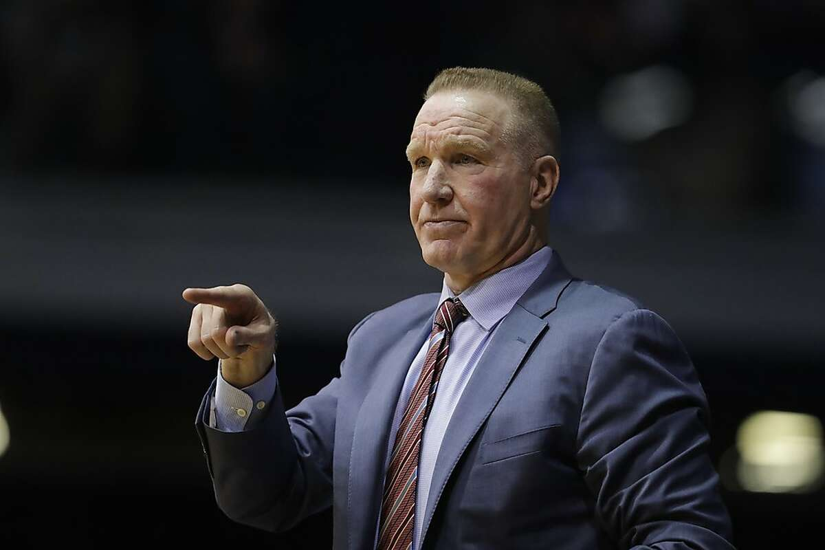 FILE - In this Saturday, Jan. 19, 2019,file photo, St. John's head coach Chris Mullin in action during the first half of an NCAA basketball game against Butler in Indianapolis. Chris Mullin has