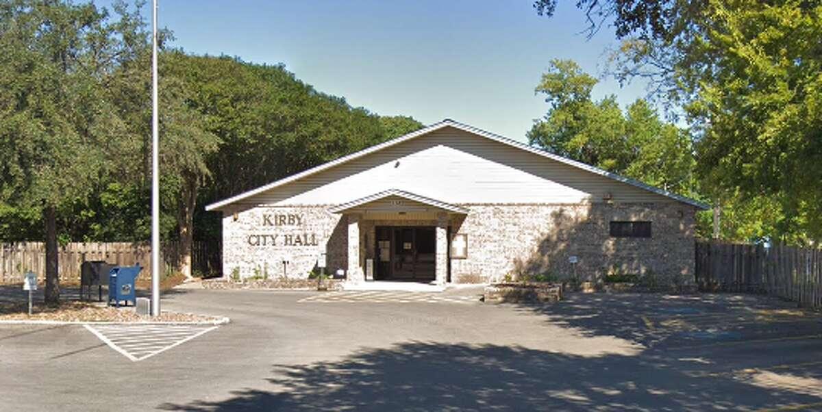 Kirby City Hall 112 Bauman Voters: 17