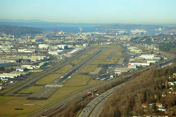 Boeing Field King County Airport is located about five miles south of downtown Seattle