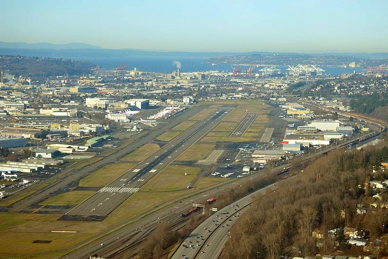 Officials look to ban deportation flights at county airport