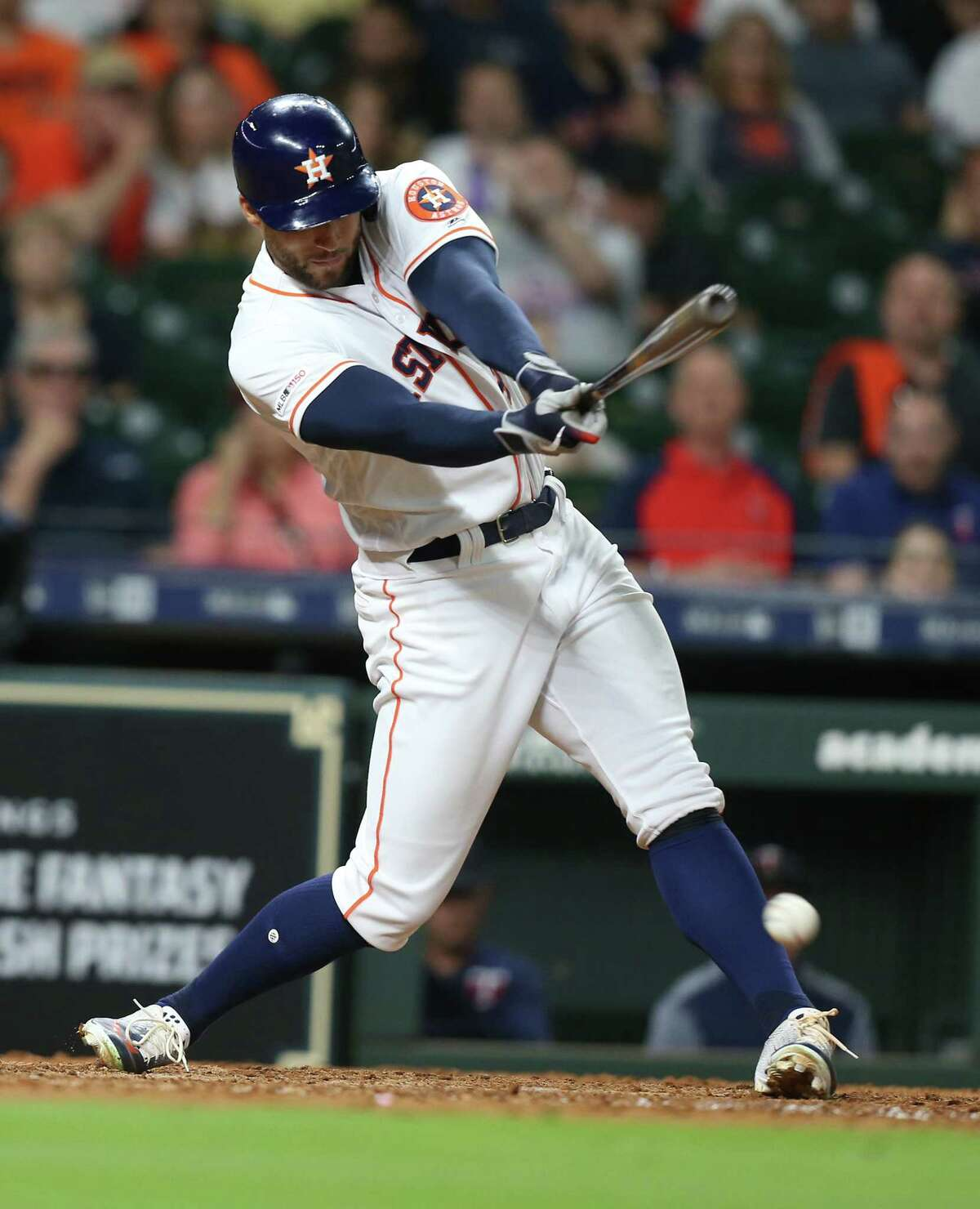 Houston Astros host the Minnesota Twins at Minute Made Park on Monday, April 22, 2019.