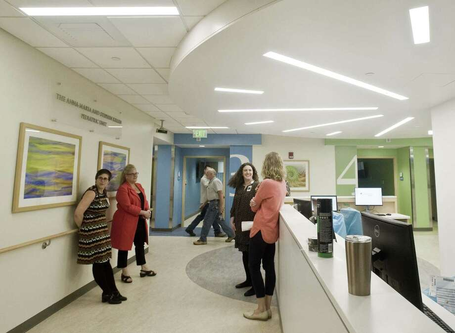 The new pediatric unit at Danbury Hospital, as seen April 22, is scheduled to open on May 5. Photo: Scott Mullin / For Hearst Connecticut Media / The News-Times Freelance