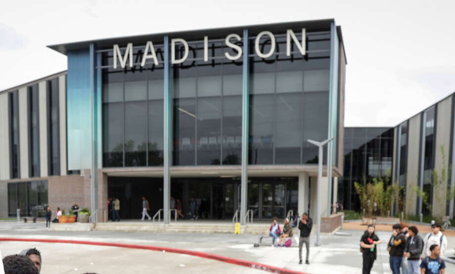 James Madison High School will turn away parents if they show up at the school wearing bonnets, pajamas, hair rollers or leggings, among other clothing items, according to a memo signed by the school's new principal, Carlotta Outley Brown. Photo: John Shapley