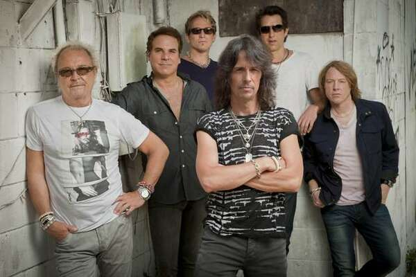 The Anglo-American classic rock band, Foreigner.