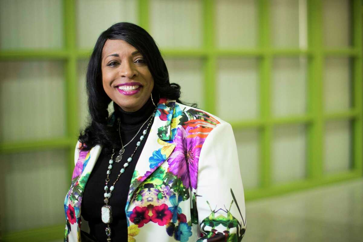 Carlotta Brown is the new principal at James Madison High School in Houston. She has instituted a new dress code for parents arriving at the school.