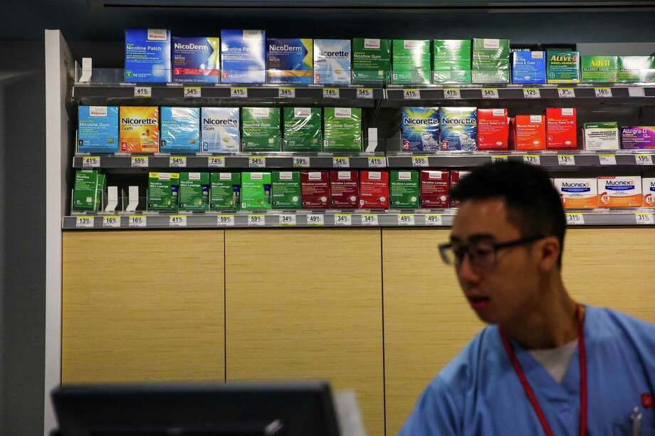 After pressure from lawmakers and the Food & Drug Administration, starting in September Walgreens will restrict the sale of tobacco products to adults age 21 or older. Photo: Gabrielle Lurie / The Chronicle / ONLINE_YES