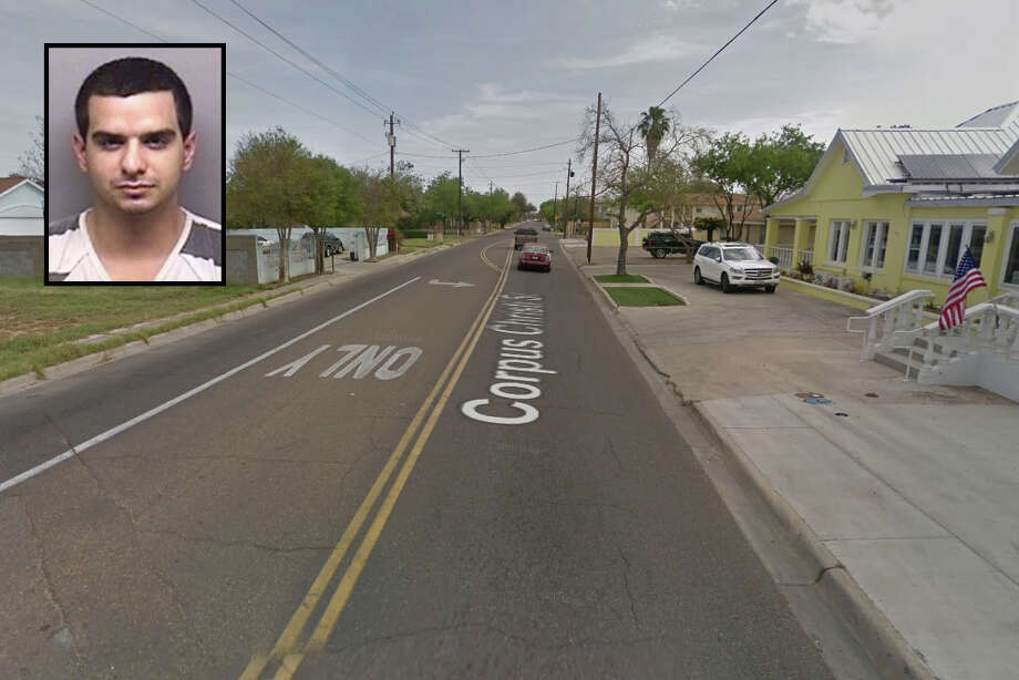 Gilbert Rodriguez, 28, was served with warrants charging him with burglary of a building and theft of property. Photo: Google Maps/Street View