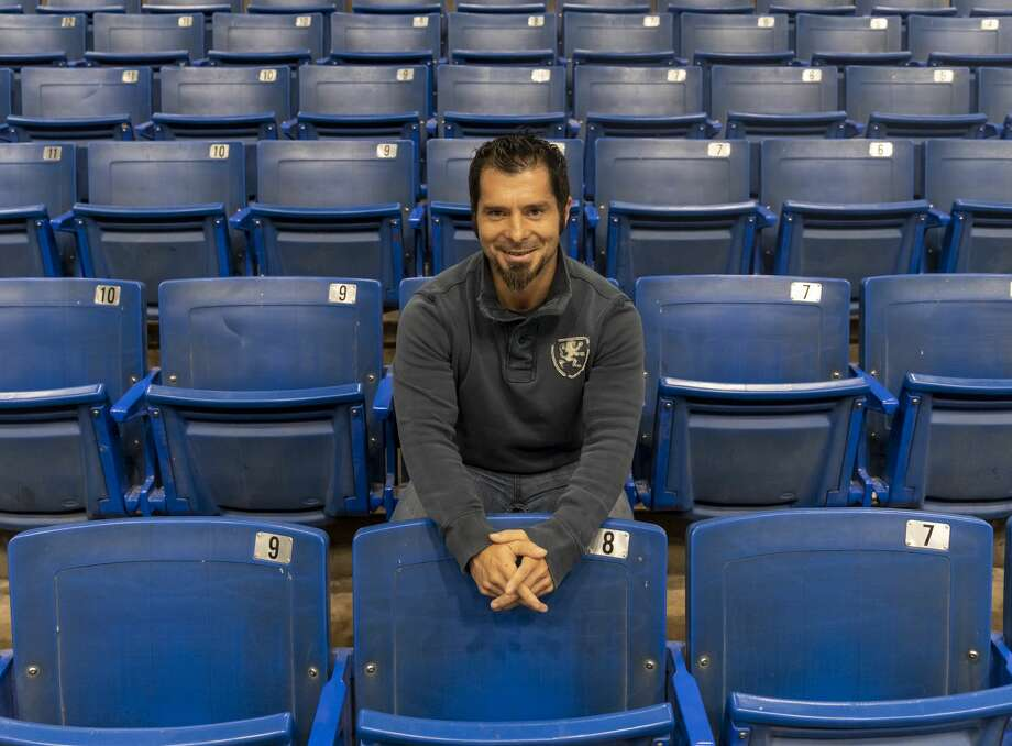 Head coach Danny Lopez at the Ector County Coliseum. Photo: Jacy Lewis/191 News
