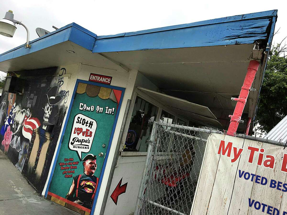 The original Papa's Burgers location on Old Highway 90 West in San Antonio closed for business on Thursday.