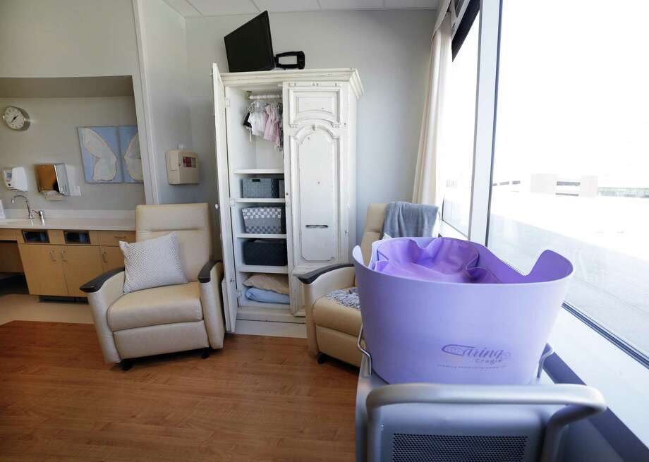 The Garden Room, a newly opened bereavement room at Texas Children's Hospital Friday in The Woodlands, TX. Photo: Michael Wyke, Houston Chronicle / Contributor / © 2019 Houston Chronicle