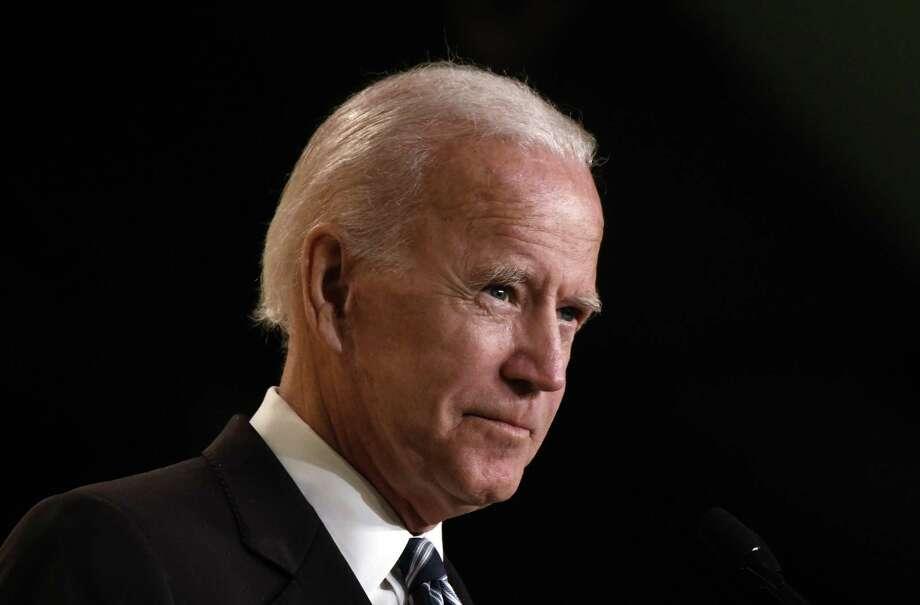 Former Vice President Joe Biden speaks in Washington, D.C., last month. Photo: Olivier Douliery / TNS / Abaca Press