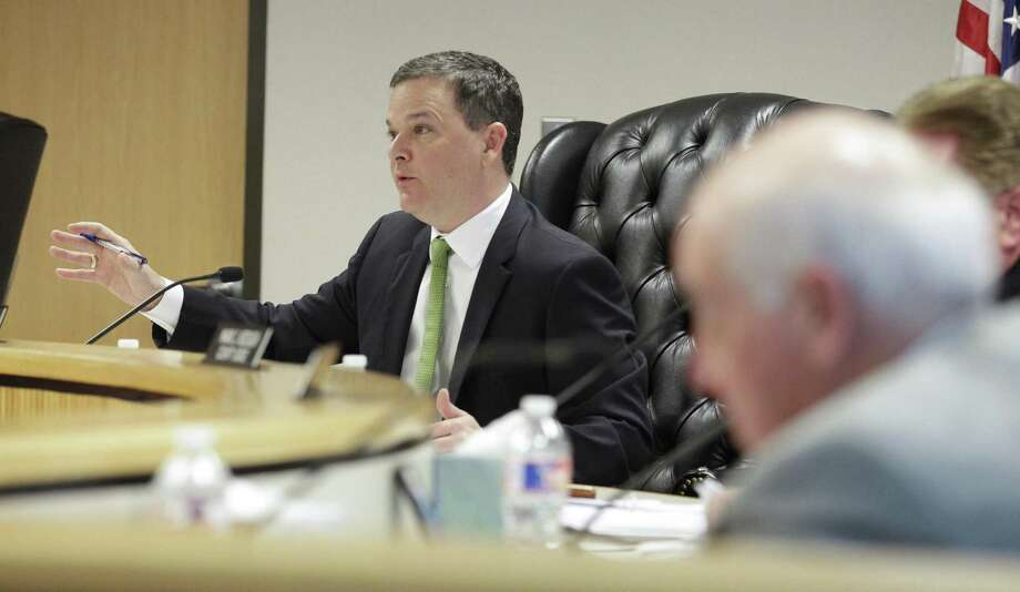 Montgomery County commissioners unanimously supported Precinct 3 Commissioner James Noack's proposal to use $7.1 million in excess funds for the early payoff of county debt Tuesday. Photo: Jason Fochtman, Houston Chronicle / Staff Photographer / © 2019 Houston Chronicle