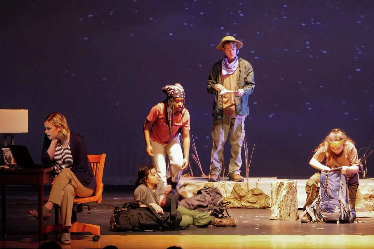 Performers in Dobie High School recent production of