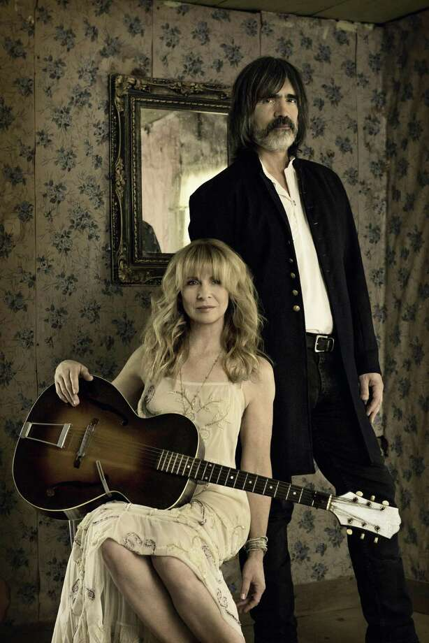 Larry Campbell and Teresa Williams perform at Fairfield Theatre Company's StageOne on May 3. Photo: Greg Roth / Contributed Photo