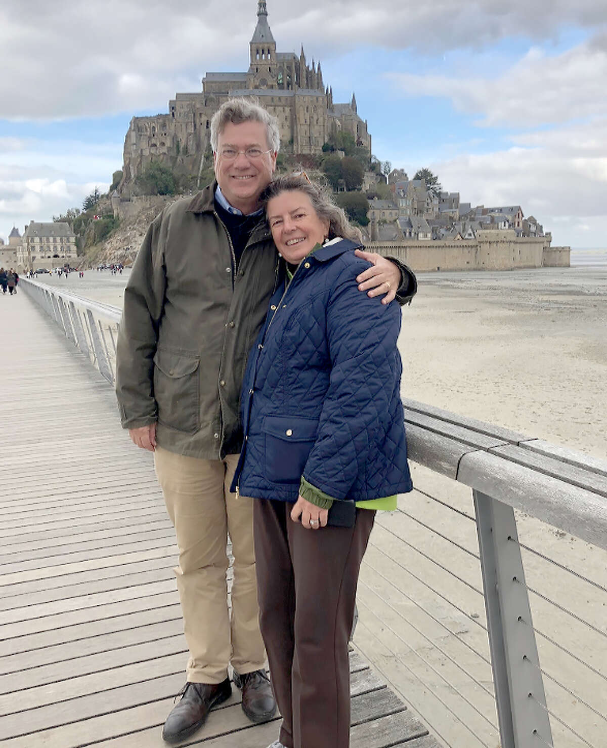 Stuart and Angie Kensinger met at Yale University in the 1980s. Since then, they've been influential in Houston's religious community, close friends and associates say.