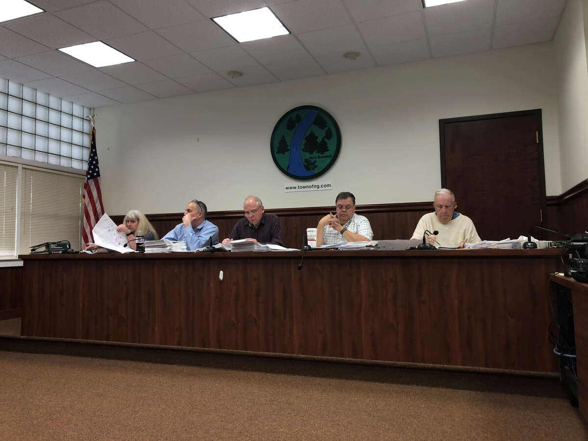 North Greenbush Planning Board meets at Town Hall for their April 23, 2019, meeting.