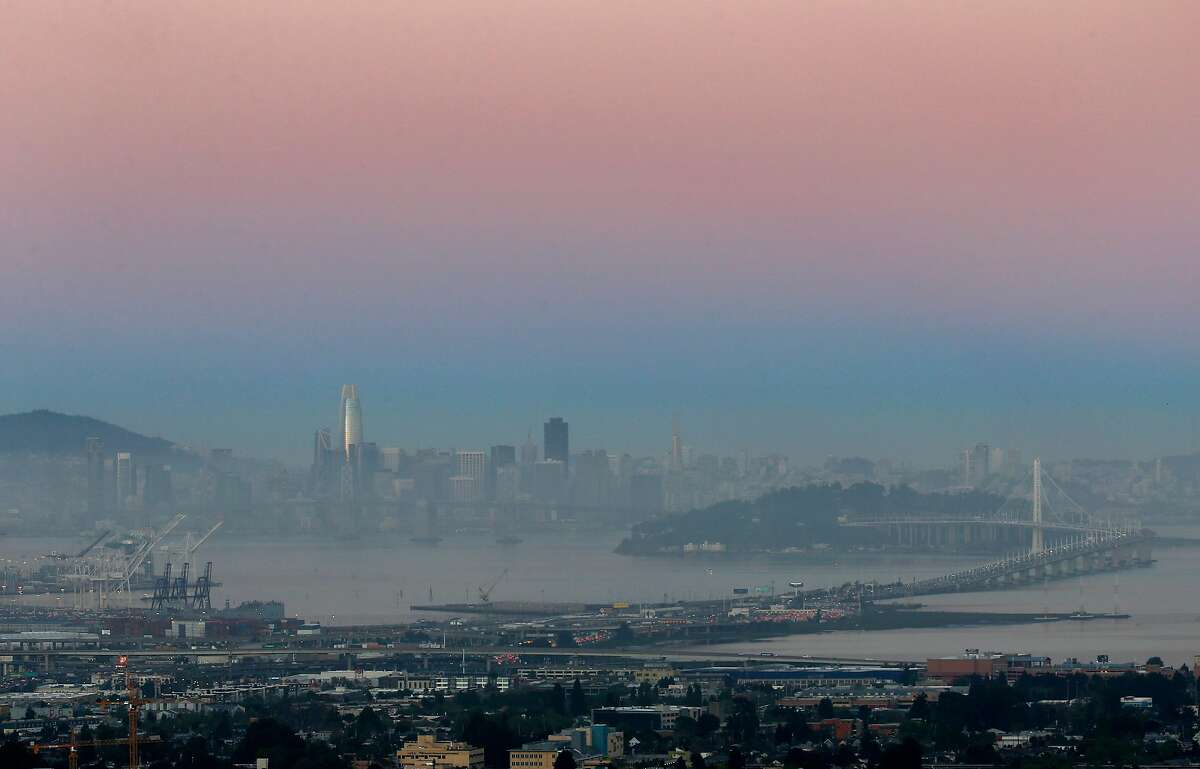 The Bay Area ranked fourth of about 200 metropolitan areas across the nation during 2015-2017 for the number of days with unhealthy particulate levels in the air.