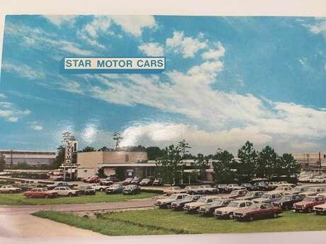 An old postcard of Star Motors