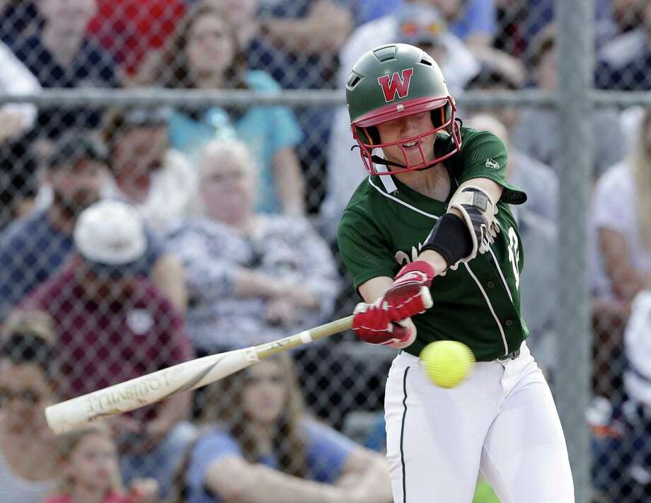 Skylar Stockton has been one of The Woodlands' top hitters this season, helping the team secure the No. 2 seed for the playoffs out of District 15-6A. Photo: Michael Wyke, Houston Chronicle / Contributor / © 2019 Houston Chronicle