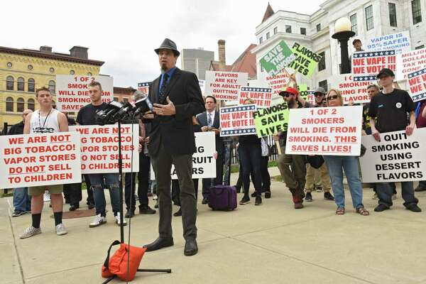 Vaping advocates rally against Albany County plan to ban flavored e