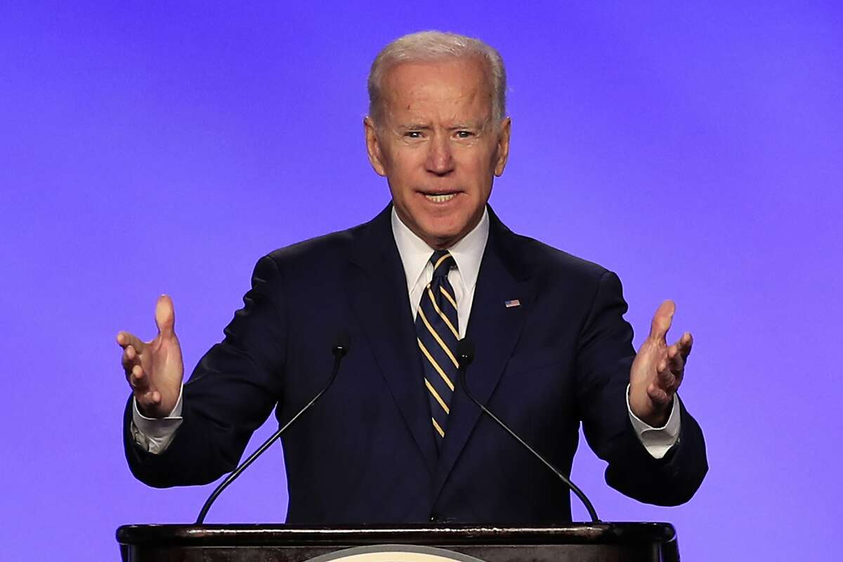 Former Vice President Joe Biden  Biden, who announced in April said he is the only candidate with the necessary experience who can defeat President Donald Trump.