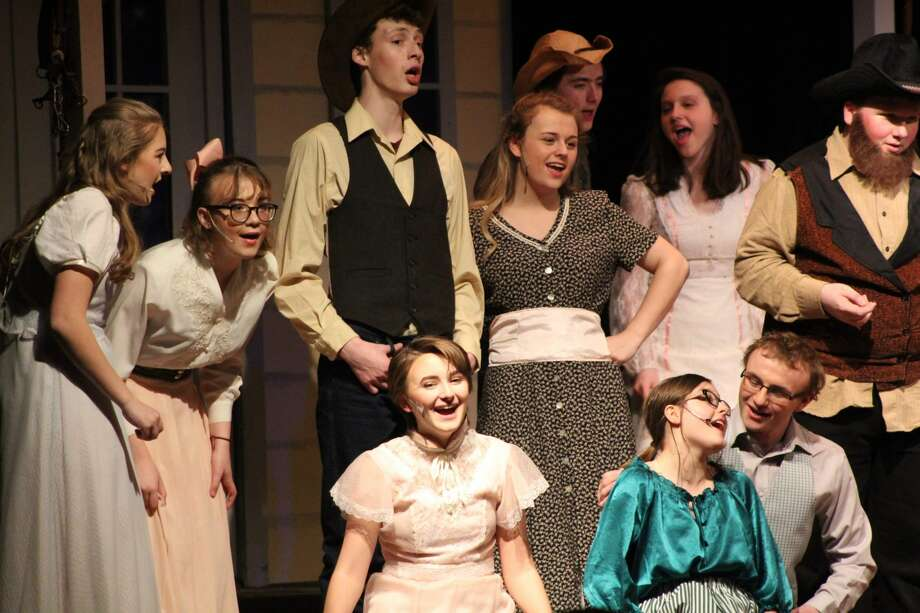 "Warrensburg Junior/Senior High School's production of ""Oklahoma!"" Photo: Warrensburg High School"