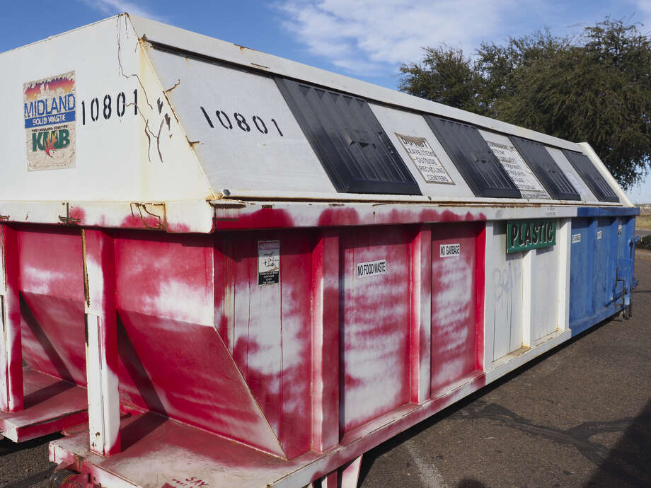 The Midland City Council learned Tuesday that adjustments need to be made to the program, including possible increased fees or a dramatic reduction in recycling services. Photo: MRT File Photo