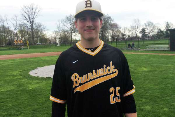 Joe Henry pitched a no-hitter with 11 strikeouts for the Brunswick School baseball team in its 15-0 win over visiting St. Luke's School on Tuesday.