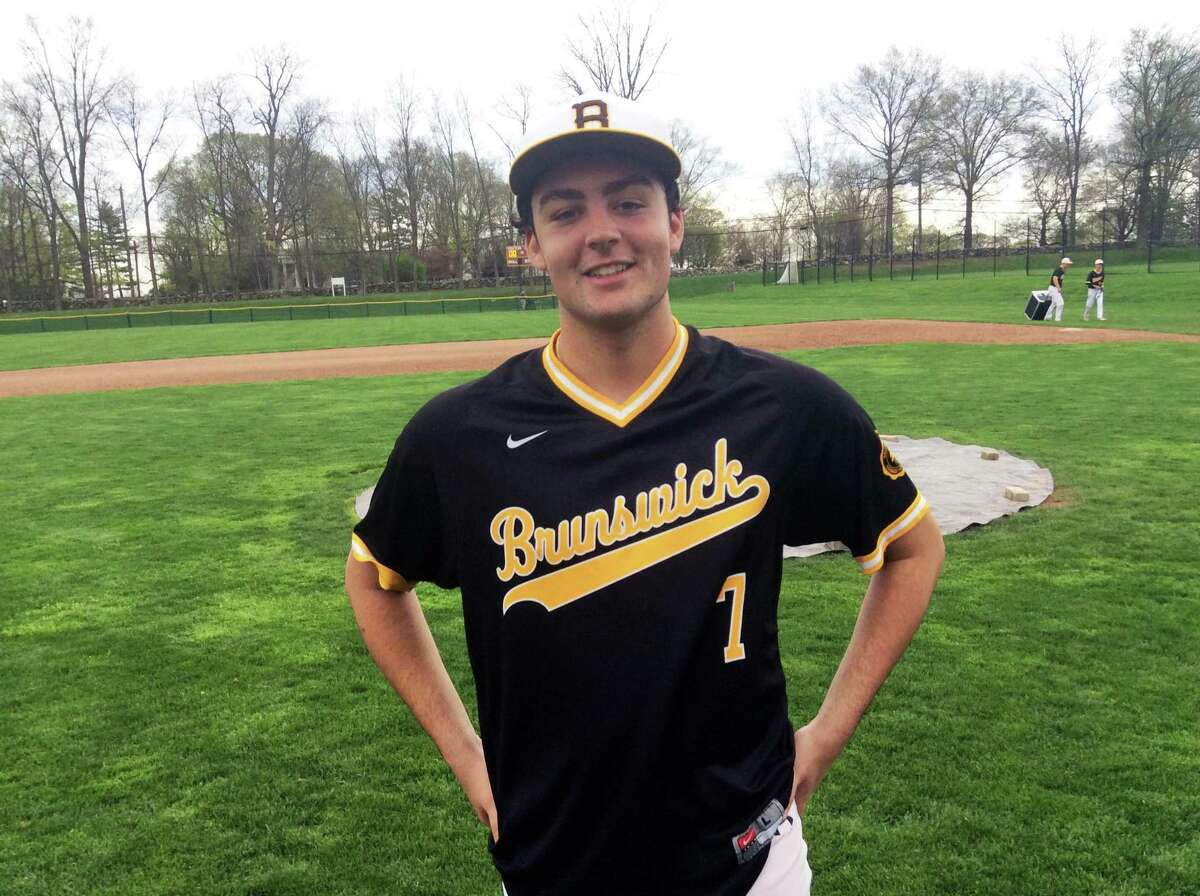 Luke Fisher had three hits and four RBIs for the Brunswick School baseball team in its 15-0 win over visiting St. Luke's School on Tuesday.